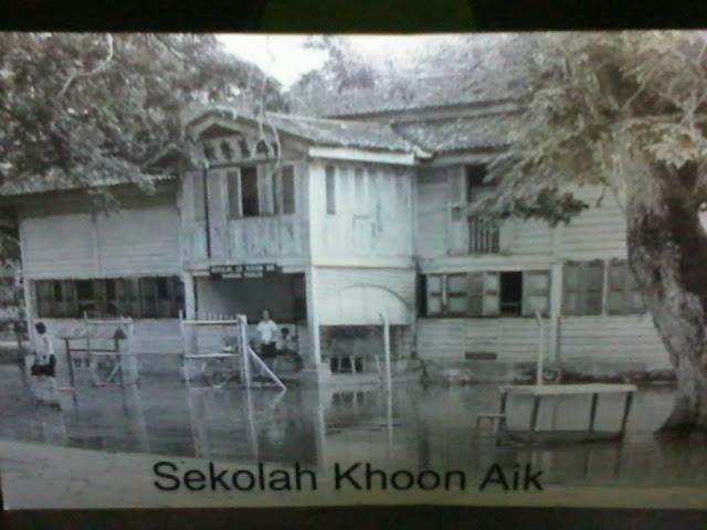 sekolah khoon aik kangar tahun 70an