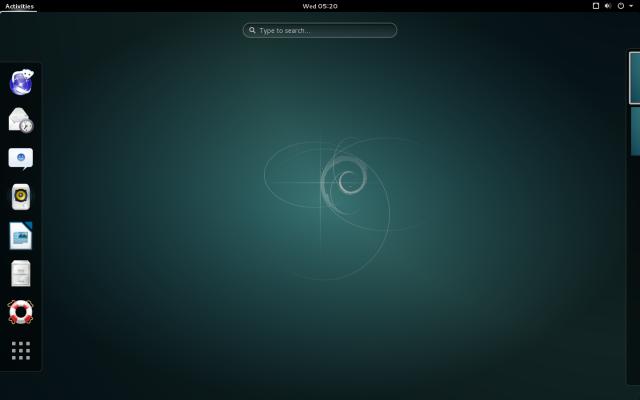 Debian GNOME