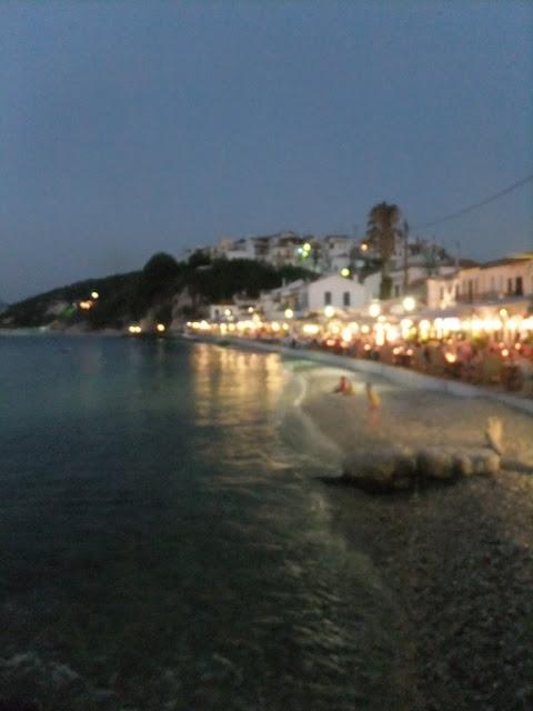 Samos Kokkari bei nacht