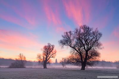 Grantchester sunrise