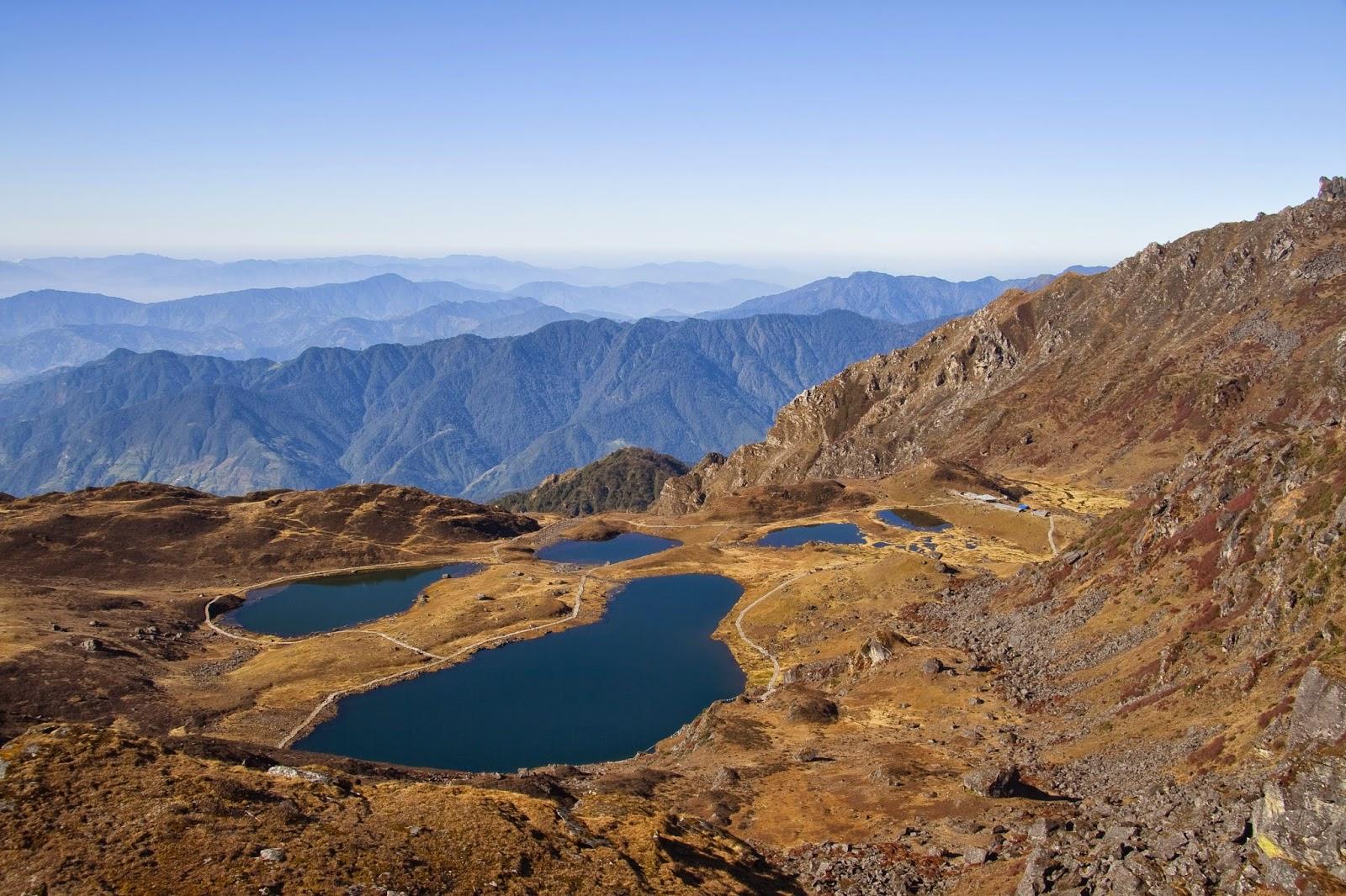 panch pokhari trek nepal