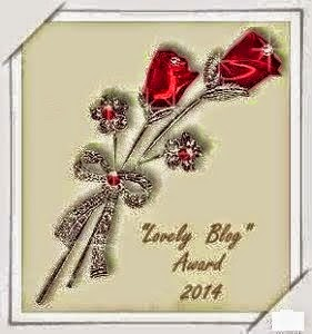 "1° PREMIO DELL'AMICIZIA - ""Lovely Blog Award 2014"""