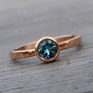 tourmaline rose gold