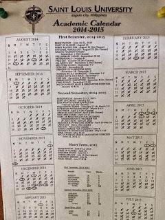 slu academic calendar 2014-2015