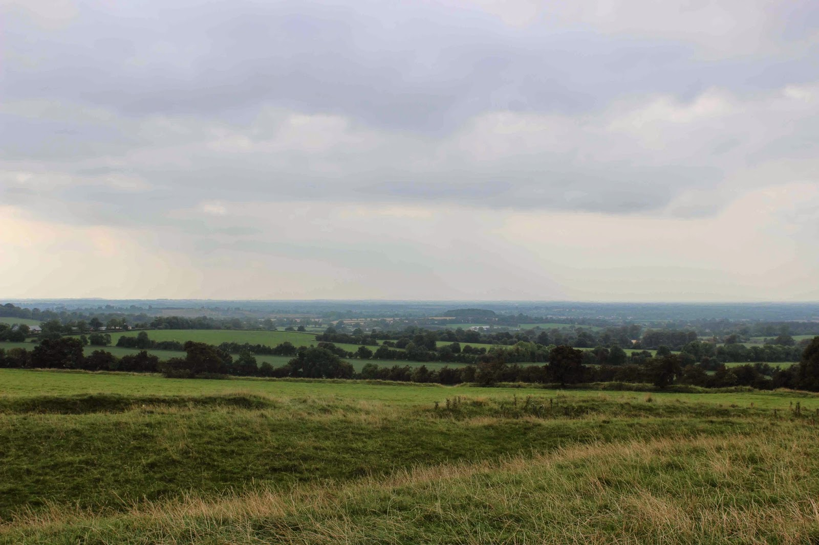 the county from the hill of tara