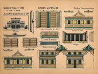 Pagoda Japanese Mansion Paper Miniature Minis