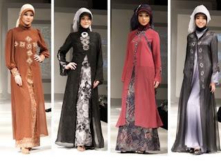 Model Trend Baju Gamis Wanita Terbaru Edisi Ramadhan
