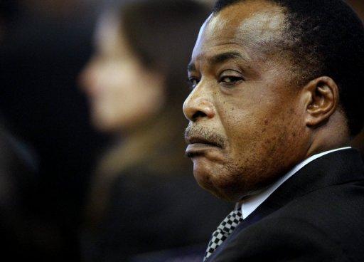 Denis Sassou Nguesso presidente de Congo Brazaville desde octubre 25, 1997.