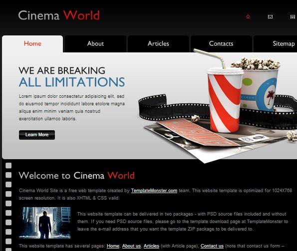 Ecommerce Site Name : Cinema 2