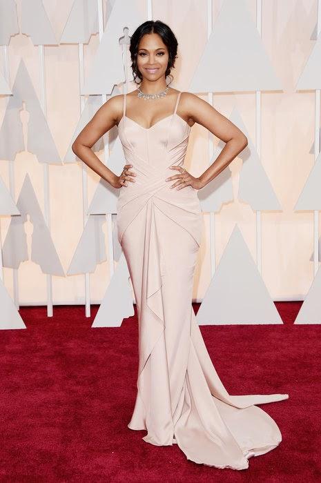 Oscar 2015 Zoe Saldana