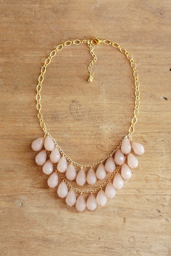 Gorgeous Teardrop Statement Necklace