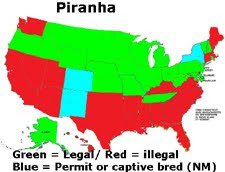 map of legal and illegal Piranha States