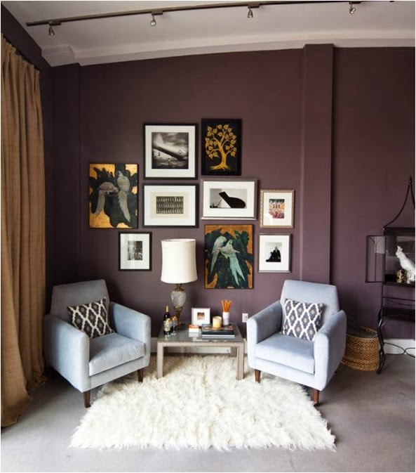 Decorating With Color Mauve