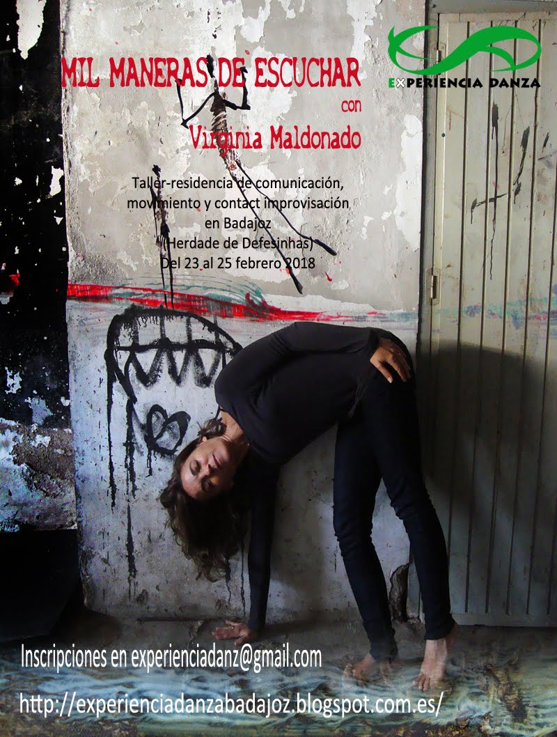 TALLER -RESIDENCIA con VIRGINIA MALDONADO