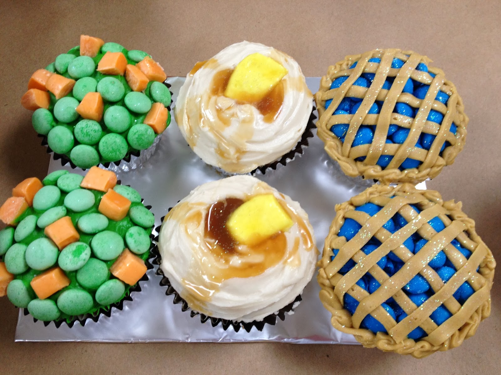 recipe: thanksgiving dinner cupcakes [39]