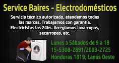 Service Baires - Electrodomésticos