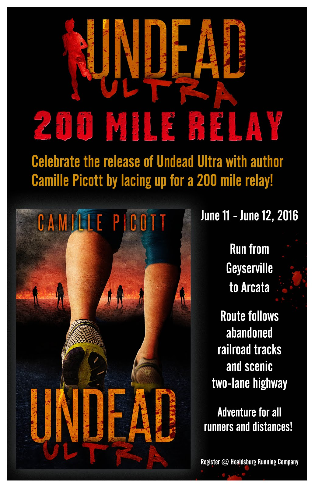 Undead Ultra 200-Mile Relay