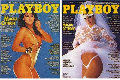 Capas de Playboy antiga