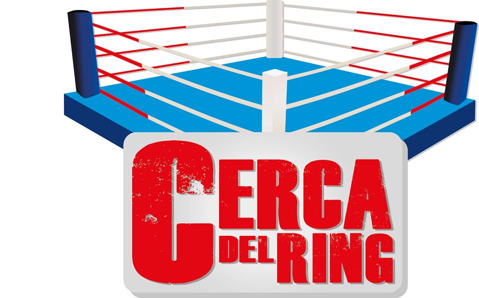 Logo de Cerca del Ring. Medio boxístico compuesto por el mismo equipo de Boxeadoras Argentinas.