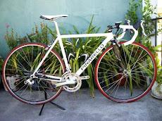 A minha Bicicleta de treino de estrada