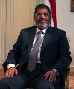 PRESIDEN MESIR DARI FJP : MOHAMED MORSI