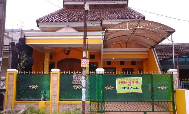 Rumah Dijual di Bekasi Utara Murah Angkot Lewat Depan Rumah 24 Jam Tampak Depan