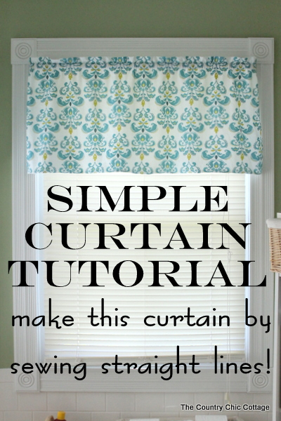 High Quality How To Make Curtains: Try This Super Simple Sewing Technique. Make An  Entire Curtain