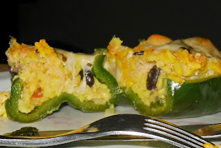 Recipe for Stuffed Green Peppers
