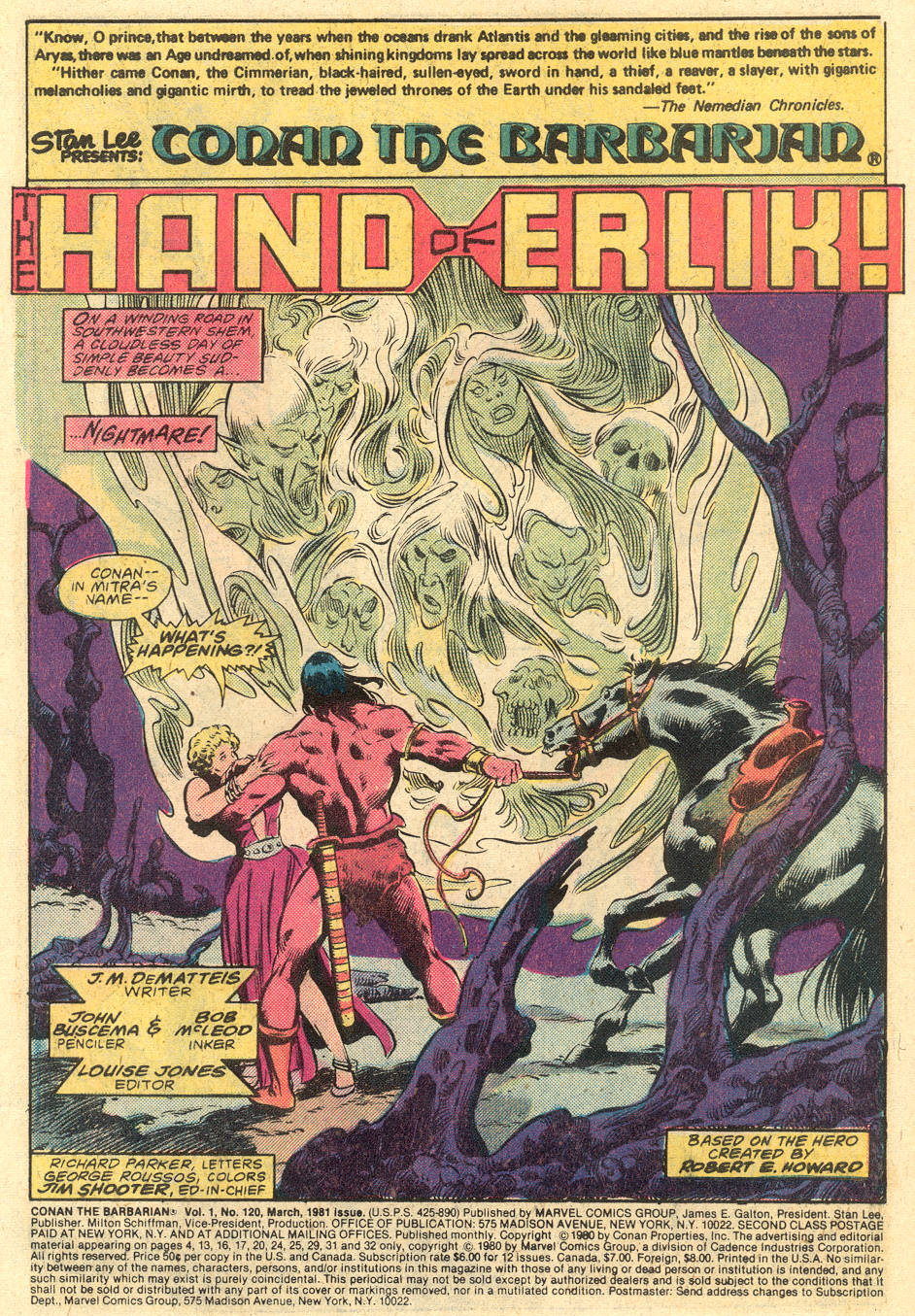 Conan the Barbarian (1970) Issue #120 #132 - English 2