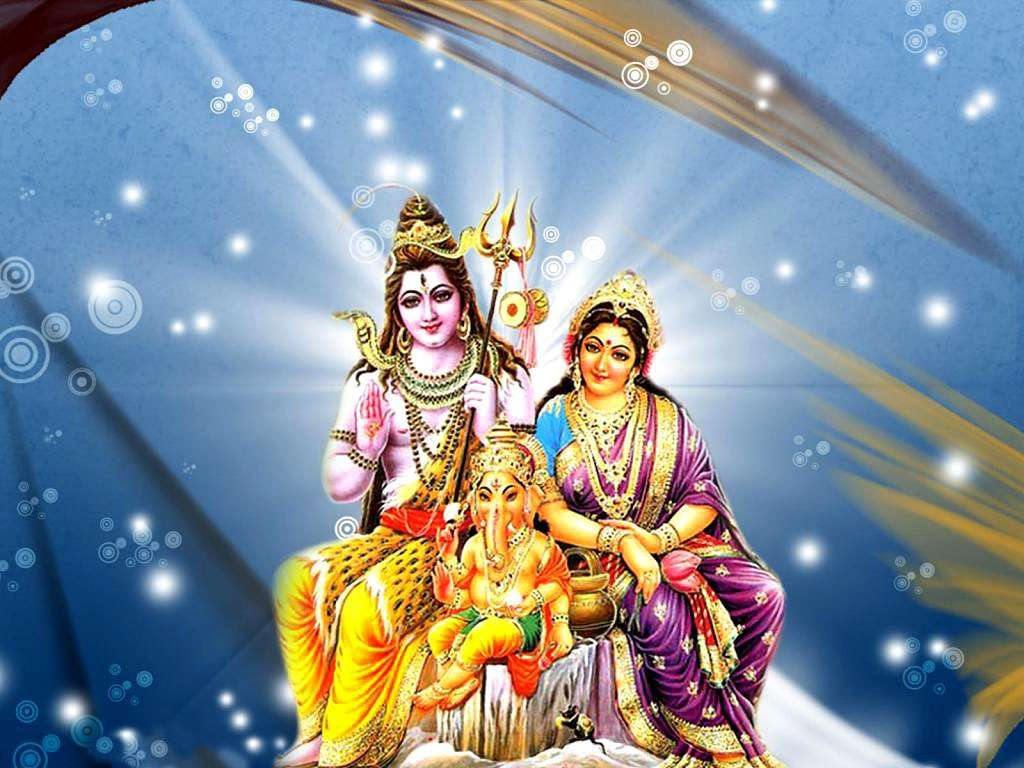 Indian Bhagwan Lord Siva Parvati Latest Exclusive Wallpapers Collection