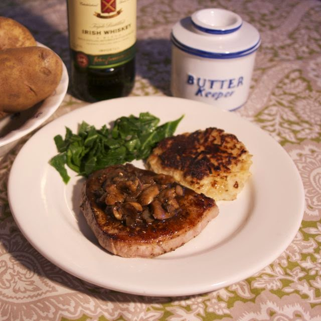 Irish Whiskey Steak: simplelivingeating.com