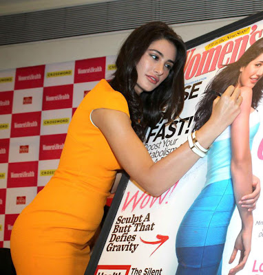 nargis fakhri launches womens health magazine hot images