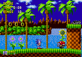 Playing Flash-based Games of Sonic the Hedgehog on SonicGames365