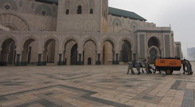 Casablanca, Marruecos, Gran Mezquita, Hassan II, blog de viajes