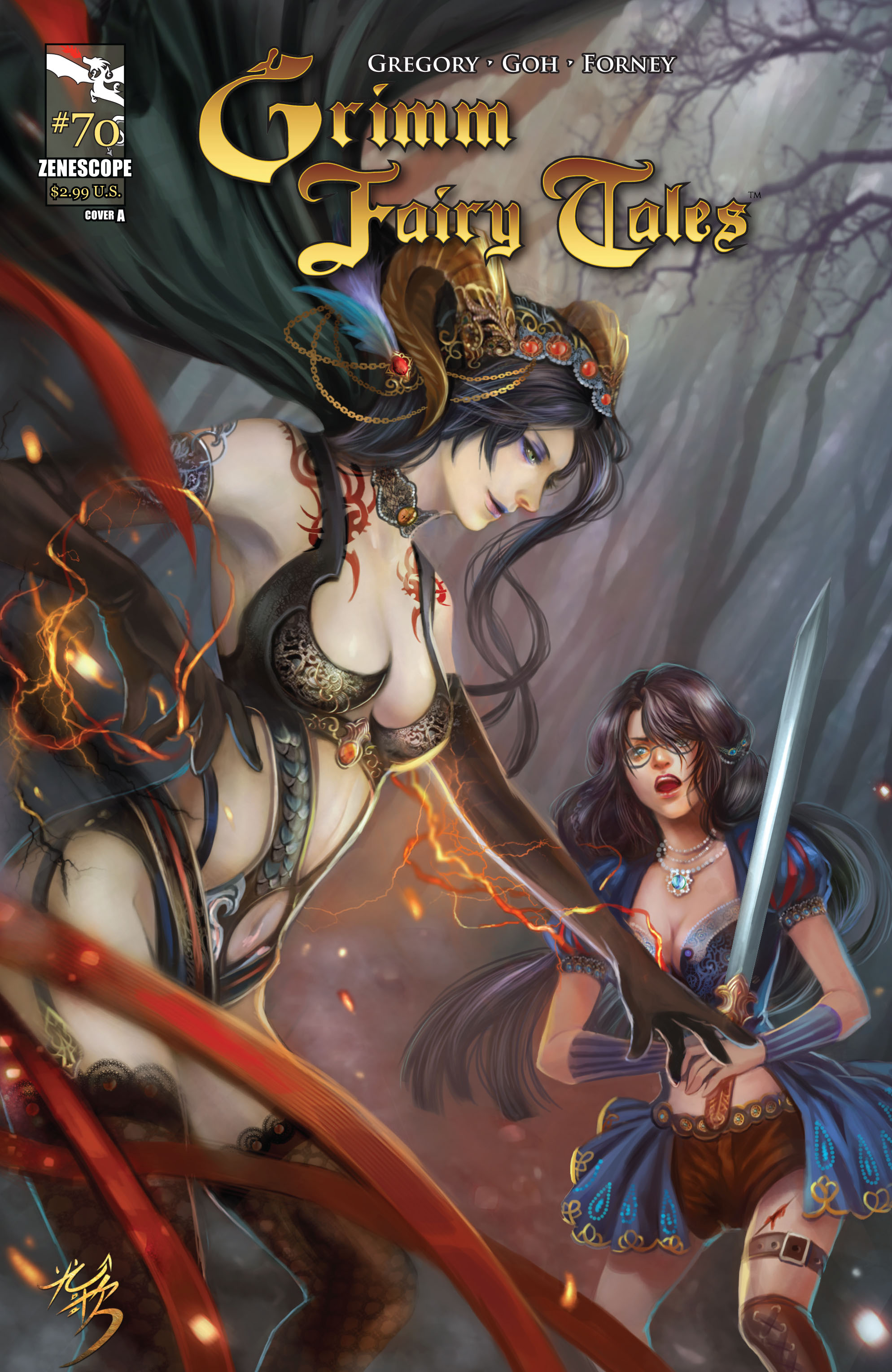 Grimm Fairy Tales (2005) Issue #70 #73 - English 1