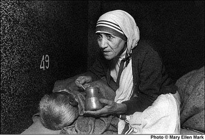 The Catholic Point: Communion of Saints Mother Teresa With The Poor