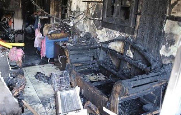 Τραγωδία στον Άγιο Δημήτριο: Κάηκαν ζωντανοί μάνα και ο 4χρονος γιος της