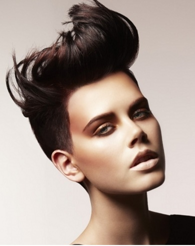 Amazing Short Mohawk Haircut 2014