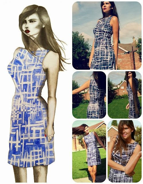 Brasilia Dress Free Sewing Pattern