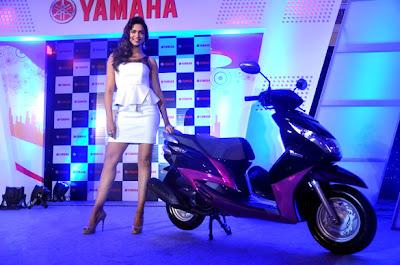 Deepika Padukone brand ambassador of Yamaha Scooters