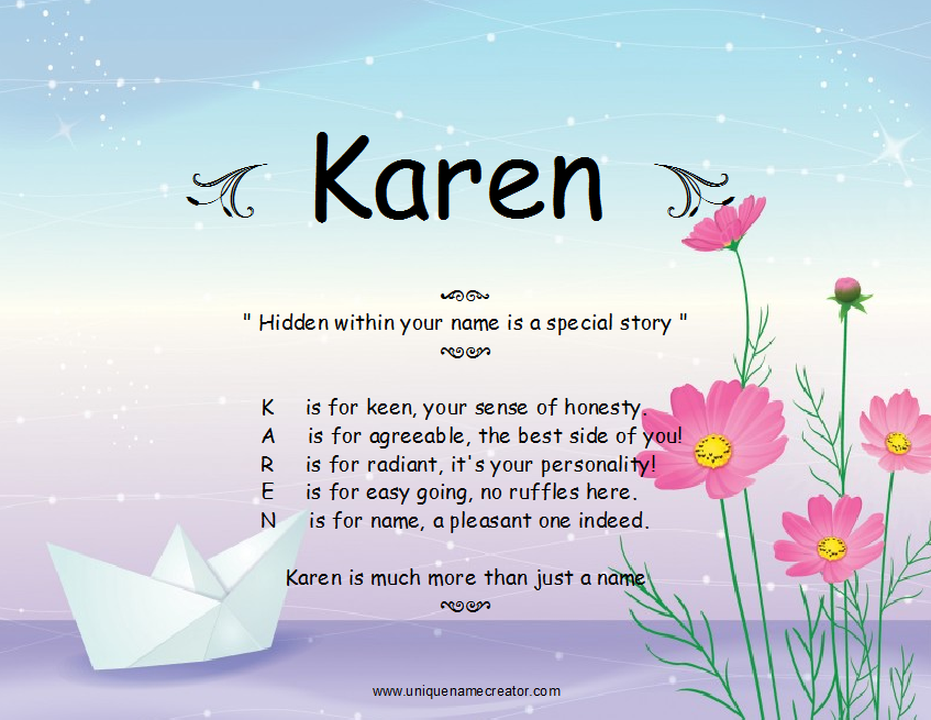 The name karen q quotes quotesgram for What does balconette mean