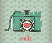 Simile and take a foto
