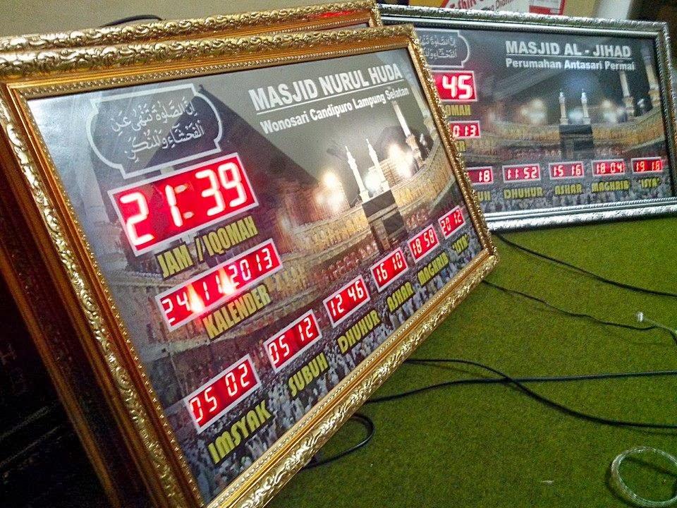 Jam Sholat Digital Yogyakarta, Jogja, DIY