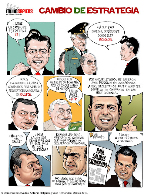Enrique Peña Nieto Comic