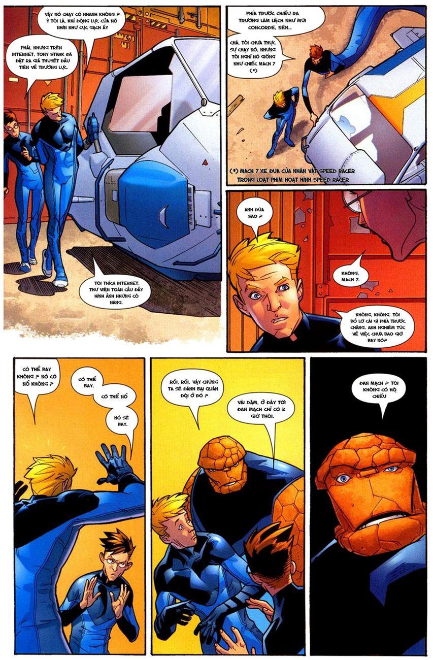 Ultimate Fantastic Four chap 10 - Trang 22