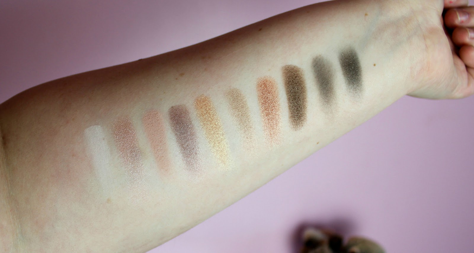 Soap & Glory Perfect 10 Palette swatches
