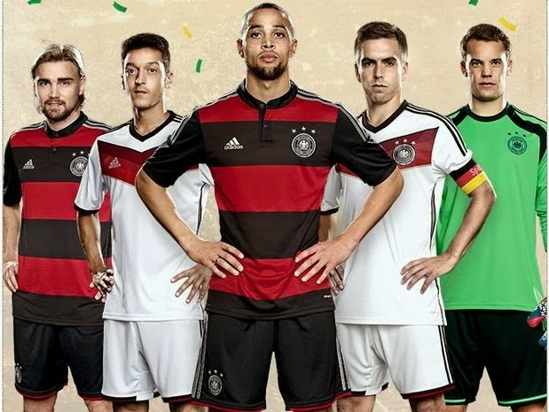 Jersey National Germany Away Fifa World Cup 2014