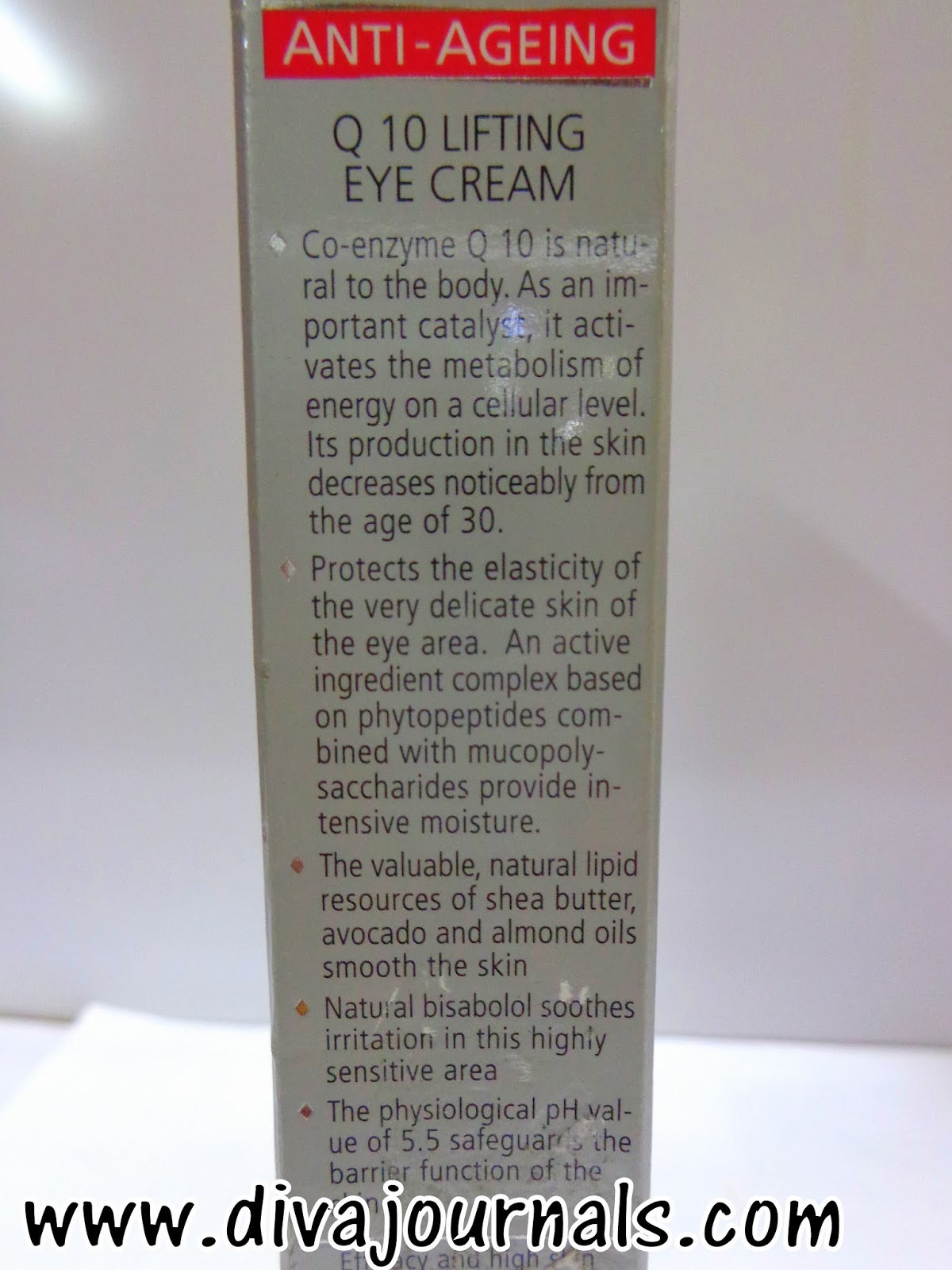 Sebamed Anti-Aging Q10 Lifting Eye Cream Review