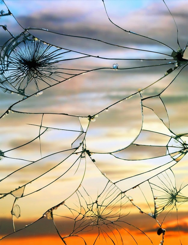 shattered mirrors by Bing Wright