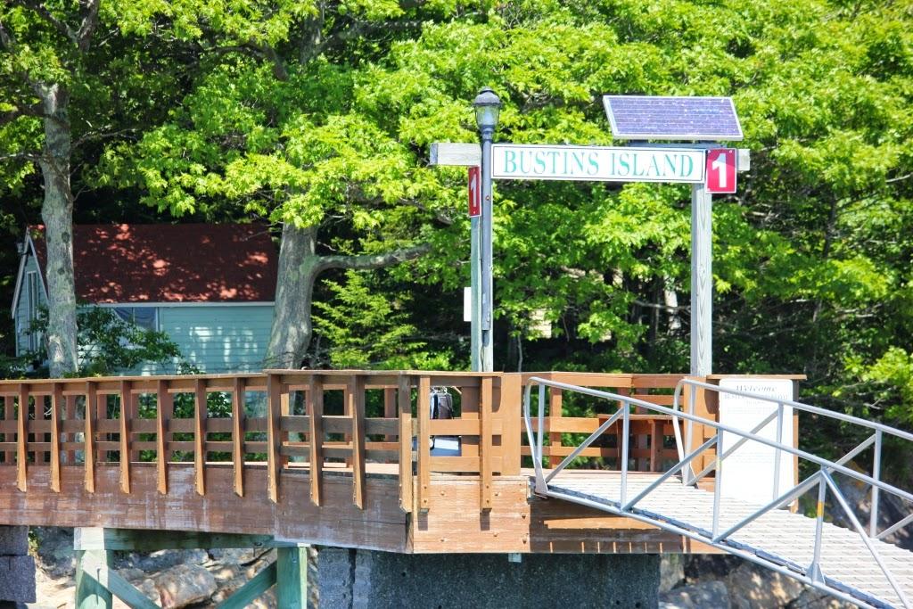 Bustins Island dock